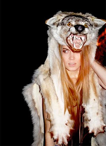 Fur wolf model