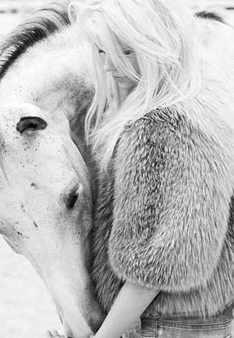 Fur horse