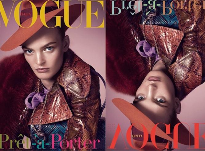 Steven Meisel Vogue Italia cover