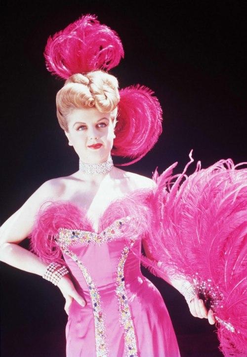 angela_lansbury_pink_feathers_dress