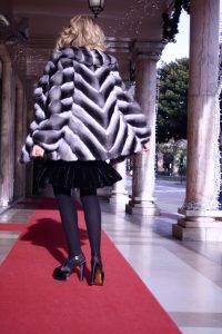 chinchilla coat monte carlo lady fur