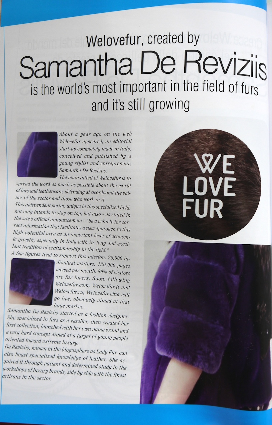 lady fur pagin edizioni trends welovefur