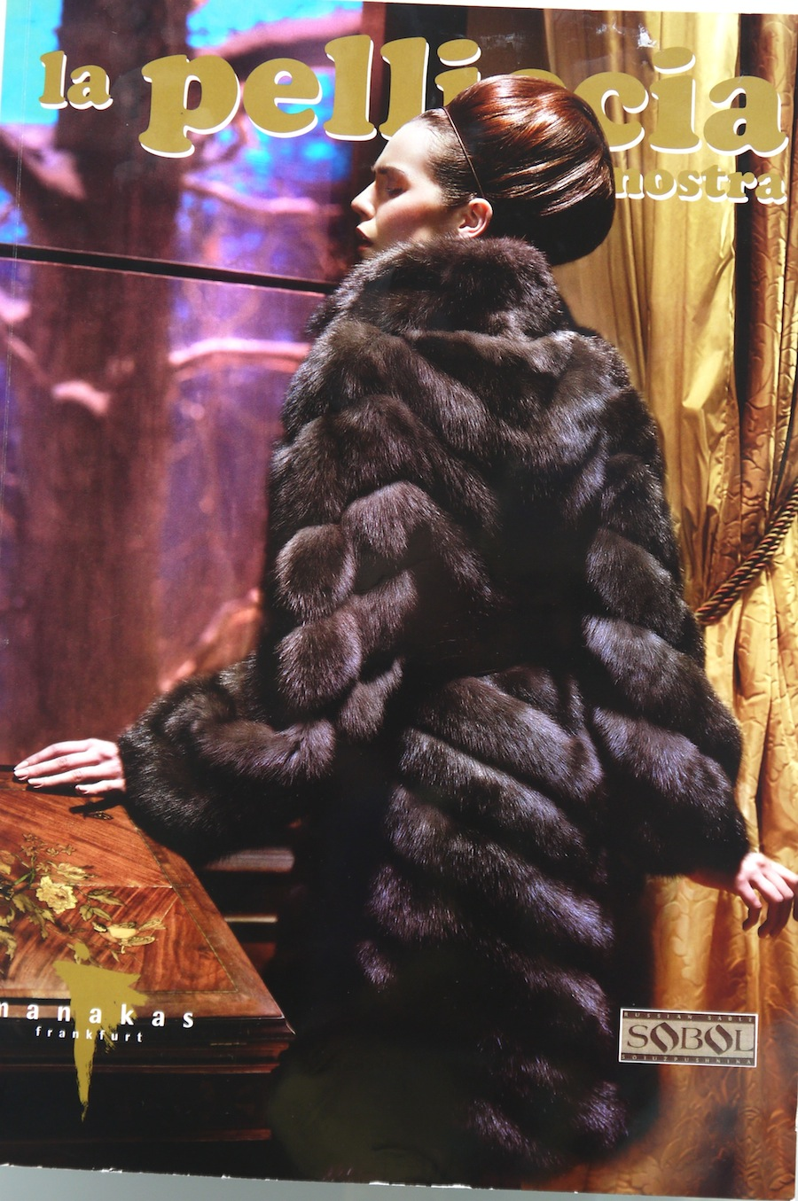 pellicce magazine lady fur