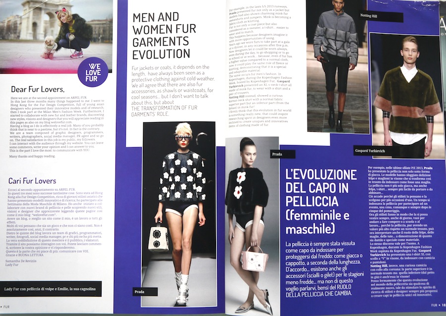 Read Welovefur.com on Arpel Fur Magazine
