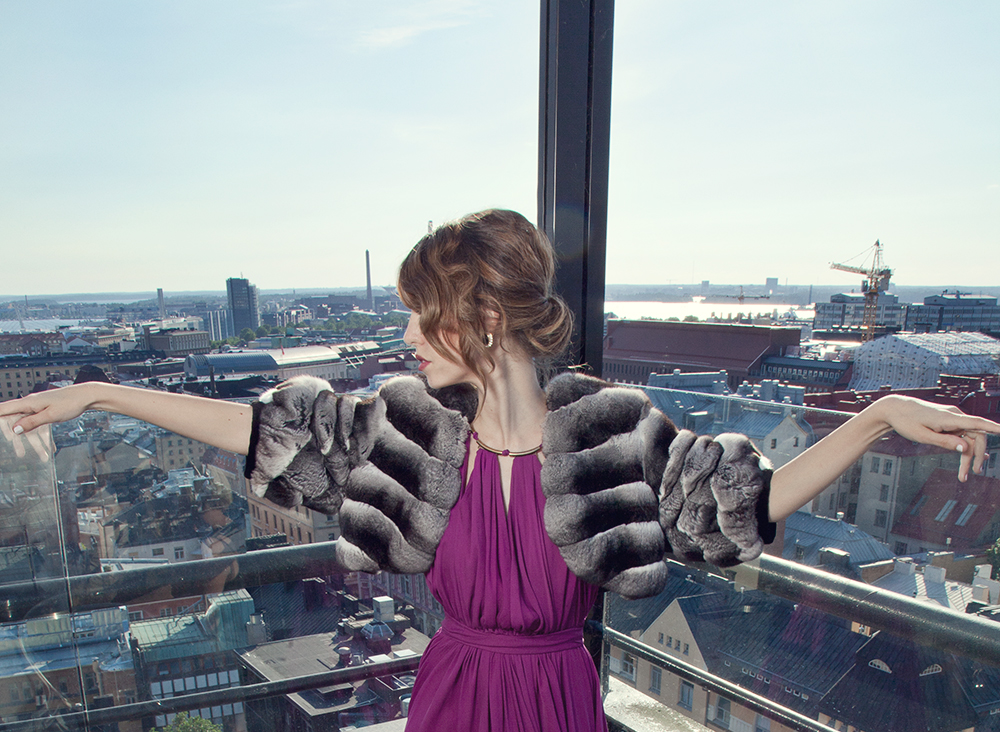 chinchilla_coat-lady_fur photos