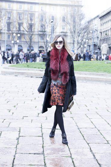 lady_fur_fox_red_stole_roberto_cavalli_mfw_milan_fashion_week