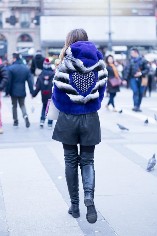 ladyfur_milanfashionweek_chinchilla_strategia_leatherboots_giancarlopetriglia_leather_purse_leatherheart