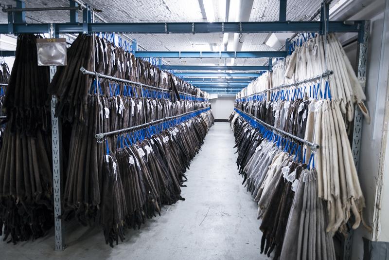 Kopenhagen fur warehouse of furs