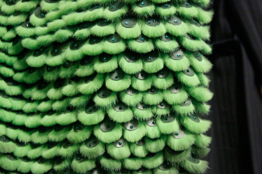 lulu liu mink fir coat details