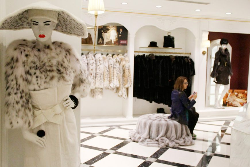 lady fur avanti furs shop