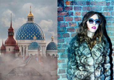 fur sable coat lady fur Sojuzpushnina