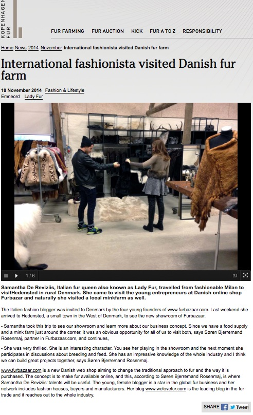 lady fur on kopenhagen fur news