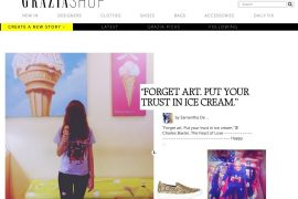 lady fur press grazia shop