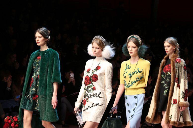 Dolce & Gabbana Fall winter 2015 16