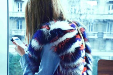 new york fashion week 2015 vladimiro gioia mink jacket
