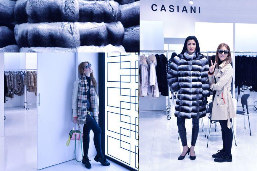 casiani furs fur execellence athens lady fur