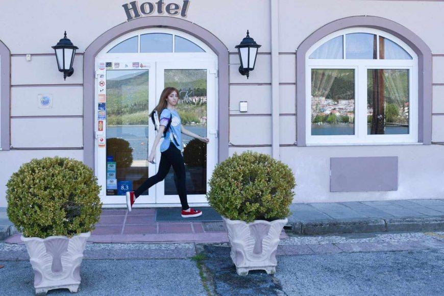 Hotel Kastoria lady fur