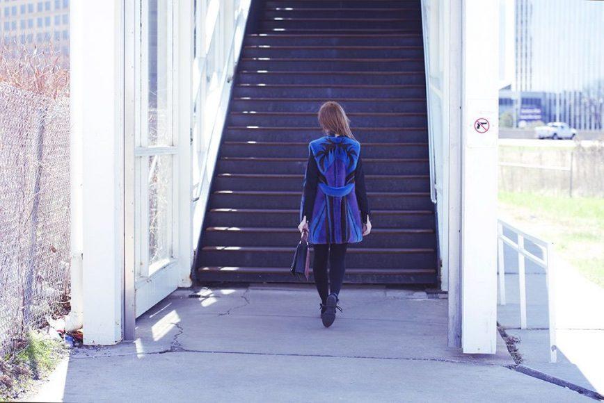 ILOE SHOW vladimiro gioia lady fur mink coat