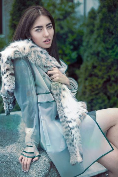 Miahatami total look and Lynxs fur