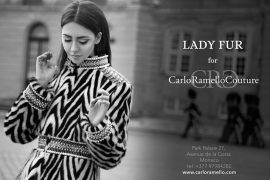 lady fur for carlo ramello monte carlo