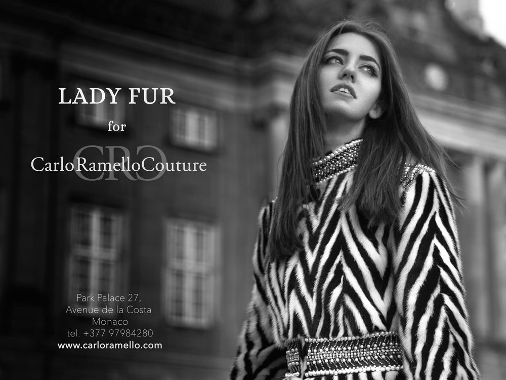 carloramello for lady fur