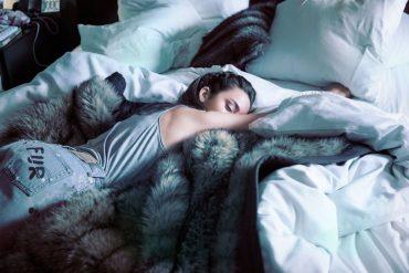Fur is good for sleep Lady Fur