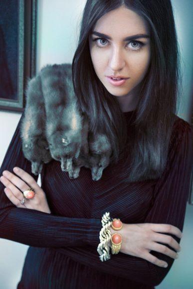 fur blogger lady fur