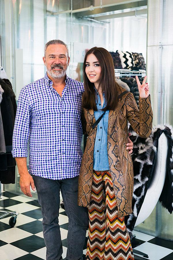 Eddie Reich and Lady Fur