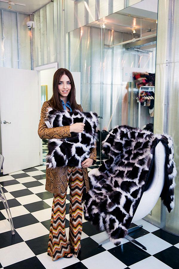 fur cover ER Fur Trading Corporation