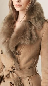 hunting jacket fur coat
