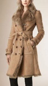 hunsting style fur coat