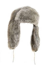 fur hat world grey