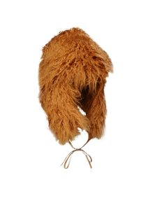 trappers hat camel fur