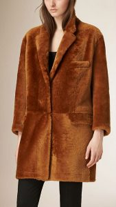 fur coat hunting jacket shearlyng