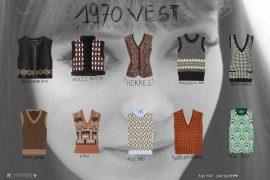 selection 10 cashmere vest