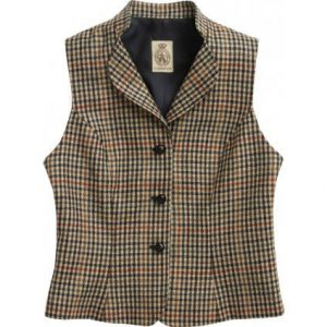 tweed vest english hunting CORDINGS