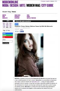 Lady Fur Marketing Partner for fur of Modem