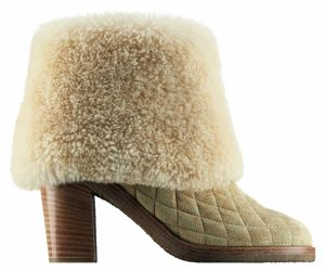chanel Shoes with fur