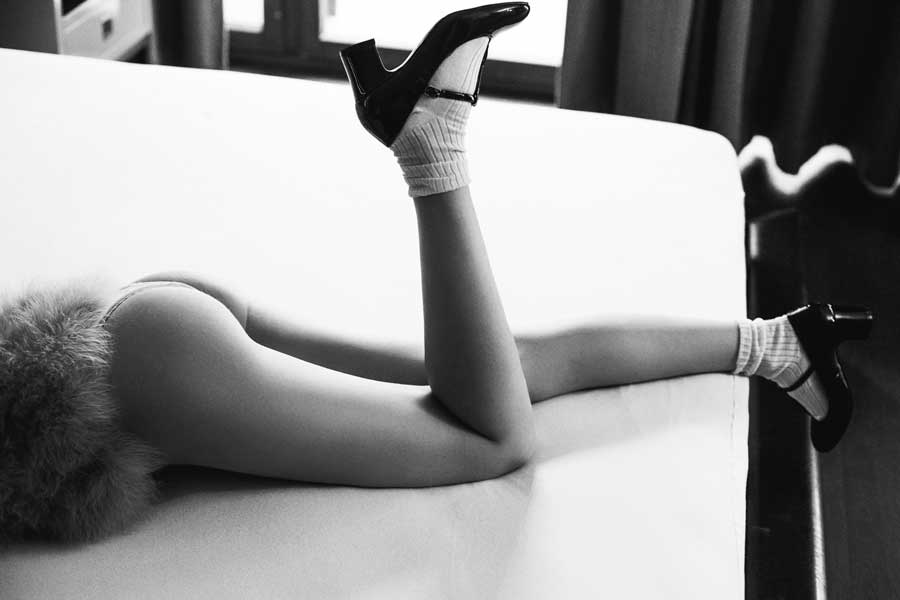 lady fur legs lolita