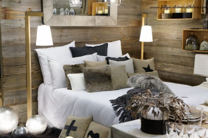 fur pillows home