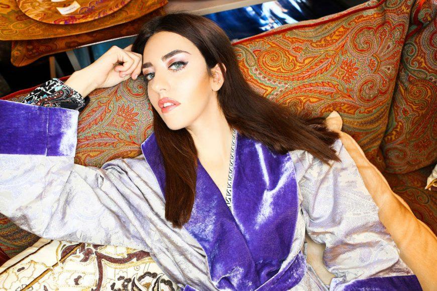 Lady Fur at Etro Home Porto Arabia The Pearl Qatar