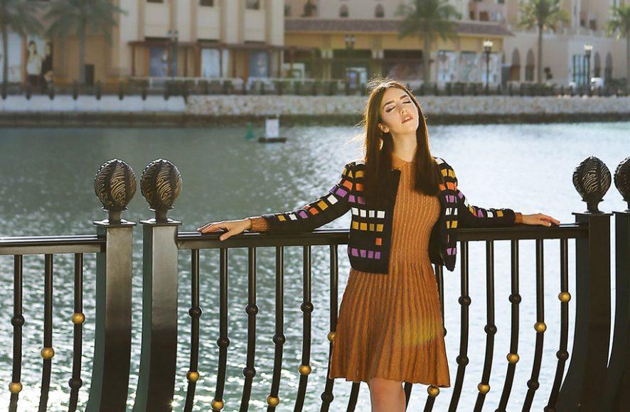 Lady Fur at The Pearl Qatar