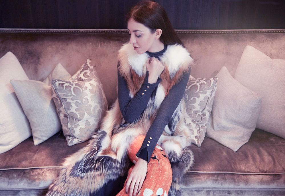fox fur long fur