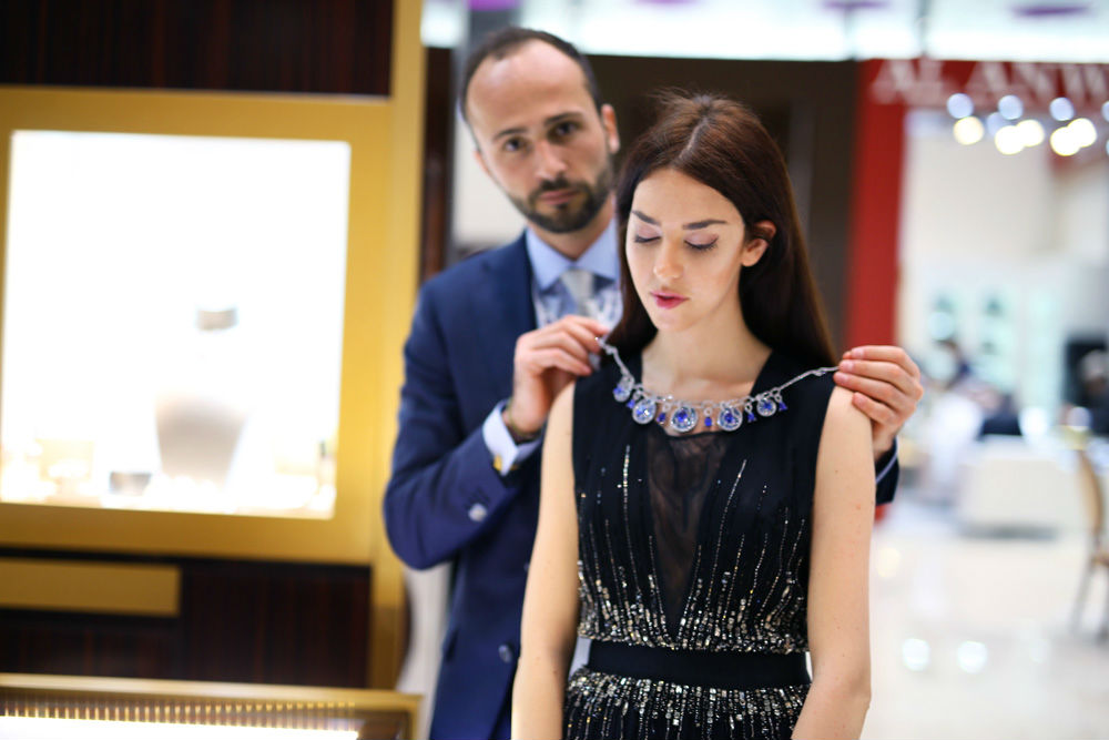 busatti milano Jewelry Show in Doha DJWE
