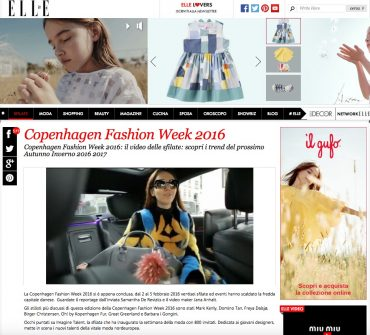 fashion magazine elle italia