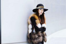 punto fur vest lady fur shanghai