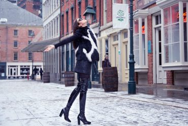 new york fashion week fox vest volpi confezioni