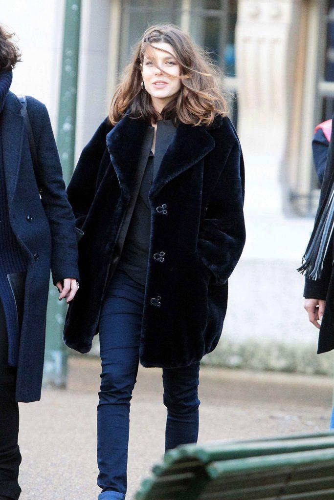 princess od monaco fur coat