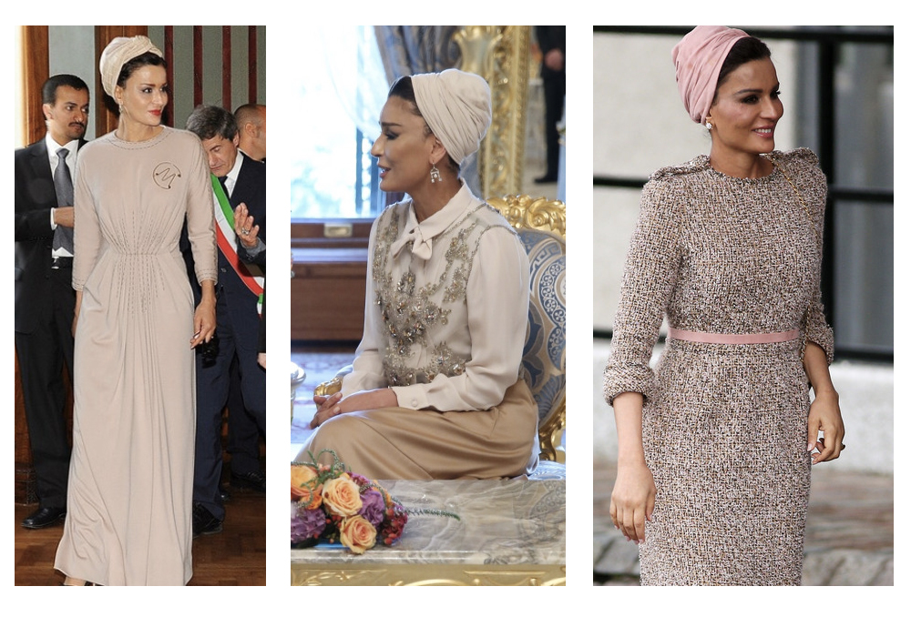 sheikha mozah style couture
