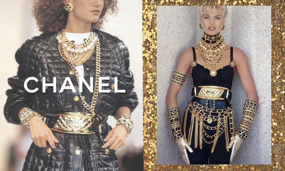 80s style chanel